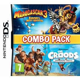 Madagascar 3 + The Croods Combo Pack (3DS)