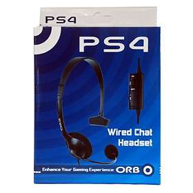 Orb PS4 Wired Chat Headset