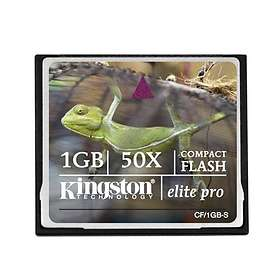 Kingston Elite Pro Compact Flash 1Go