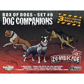Guillotine Games Zombicide: Box of Dogs Set #6: Dog Companions (exp.)