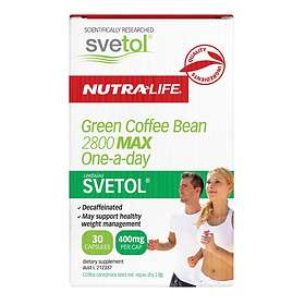 Nutralife Green Coffee Bean 2800 Max One-a-day with SVETOL 30 Capsules