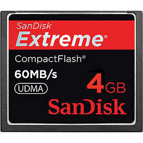 SanDisk Extreme Compact Flash 400x 60MB/s 4GB