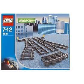 LEGO Trains 4531 Manual Points