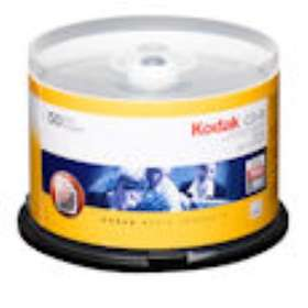 Kodak CD-R 700MB 52x 50-pakning Spindel