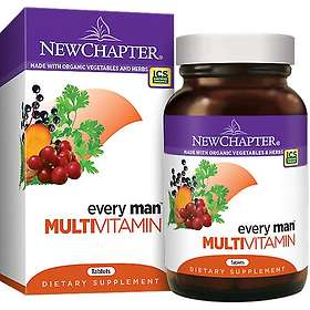 New Chapter Every Man Multivitamin 72 Tabletter