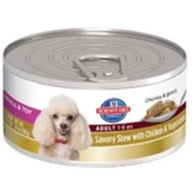 Hills Canine Science Diet Adult Small Savory Stew Chicken & Vegetables