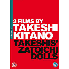 3 Films By Takeshi Kitano (3-Disc)