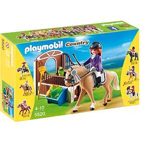 Playmobil Pony Ranch 5520 Show Horse with Stall