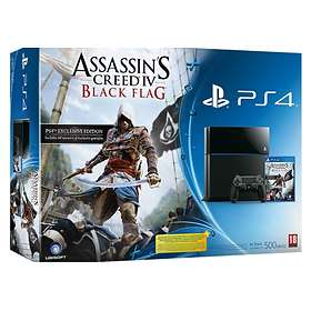 Sony PlayStation 4 (PS4) 500GB (incl. Assassin's Creed IV: Black Flag)