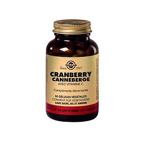 Solgar Cranberry with Vitamin C 60 Capsules