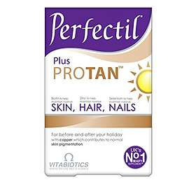 Vitabiotics Perfectil Plus Pro Tan 60 Tabletter