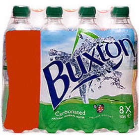 Buxton Water Natural Mineral Water Still PET 0.5l 24-pack