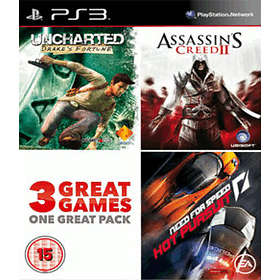 Uncharted/Assassin's Creed II/NFS: Hot Pursuit - Charity Pack (PS3)