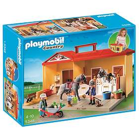 Playmobil Pony Ranch 5348 Ecurie Transportable