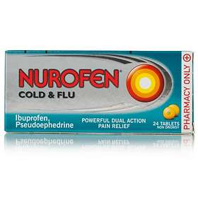 Reckitt Benckiser Nurofen Cold and Flu 24 Tablets