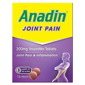 Pfizer Anadin Joint Pain 200mg 16 Tablets
