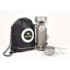 Ghillie The Maverick Hard Anodised Kettle 0.5L Full Kit
