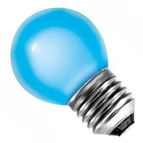 Bell Lighting Round Vacuum Filled Blue E27 15W