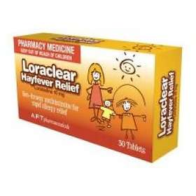 AFT Pharmaceuticals Loraclear Hayfever Relief 30 Tablets