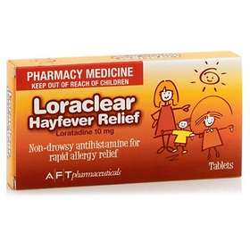 AFT Pharmaceuticals Loraclear Hayfever Relief 90 Tablets