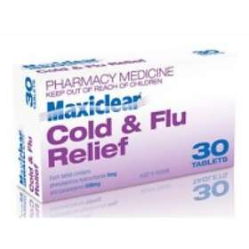 AFT Pharmaceuticals Maxiclear Cold & Flu Relief 500mg 30 Tablets