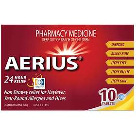 Schering-Plough Aerius 5mg 10 Tablets