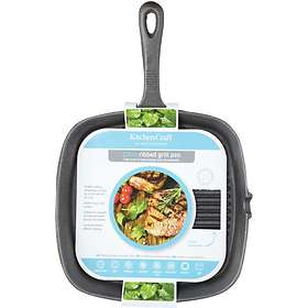 Kitchen Craft Clearview Grill Pan 23x23cm