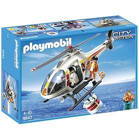 Playmobil City Action 5542 Coast Guard Fire Fighting Helicopter