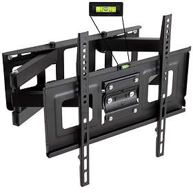 TecTake Wall Mount for 32-55 inch (81-140cm) Tilting vridbar 2 Arms