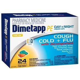 Pfizer Dimetapp PE Day + Night 24 Capsules