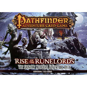 Paizo Pathfinder: Adventure Card Game: Rise Of The Runelords-The Skinsaw Murders