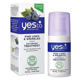 Yes To Blueberries Fine Lines & Wrinkles Eye Firming Treatment 15ml