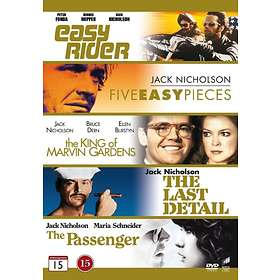 Jack Nicholson Collection: Easy Rider + Five Easy Pieces + The King of Marvin...