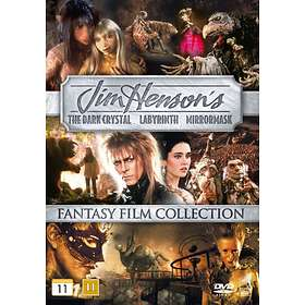 Jim Henson's Fantasy Film Collection: The Dark Crystal + Labyrinth + MirrorMask