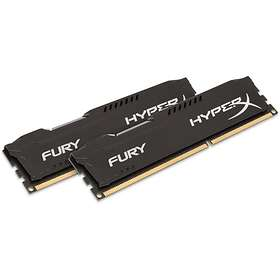 Kingston HyperX Fury Black DDR3 1866MHz 2x4GB (HX318C10FBK2/8)