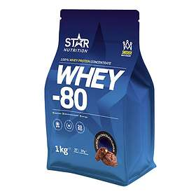 Star Nutrition Whey-80 1kg