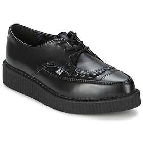 TUK Shoes Leather Lace Up Pointed Creeper (Unisex)