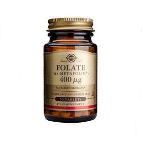 Solgar Folate 400mcg 50 Tabletter