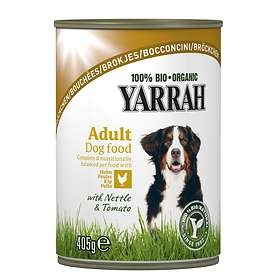 Yarrah Dog Adult Cans Chicken with Nettle & Tomato 12x0,405kg