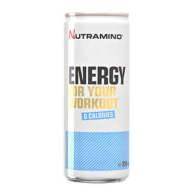Nutramino Energy For Your Workout 0 Calories 250ml 24-pack