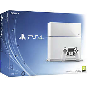 Sony PlayStation 4 (PS4) 500GB - White Edition