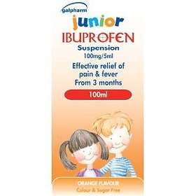 Perrigo Galpharm Ibuprofen Junior Suspension 100mg/5ml 100ml