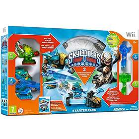 Skylanders: Trap Team - Dark Edition Starter Pack (Wii)