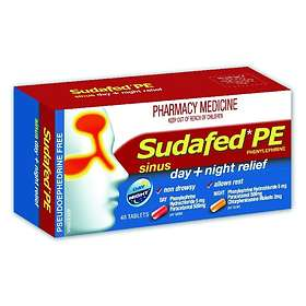 McNeil Sudafed PE Sinus Day and Night Relief 48 Tablets