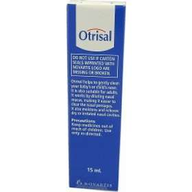 Novartis Otrisal Nasal Spray 15ml