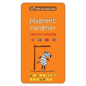 The Purple Cow Magnetic Hangman (pocket)
