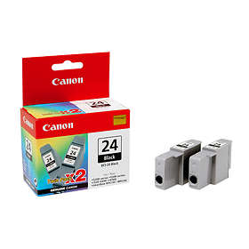 Canon BCI-24BK (Black) 2-pack