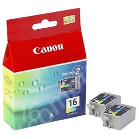 Canon BCI-16CL (3-Farge) 2-pack