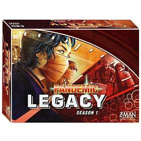 Z-Man Games Pandemic Legacy: Red (Season 1)