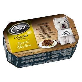 Cesar Country Kitchen Special Selection 4x0.15kg